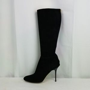 Jimmy Choo Suede Heels Knee High Boots size 38